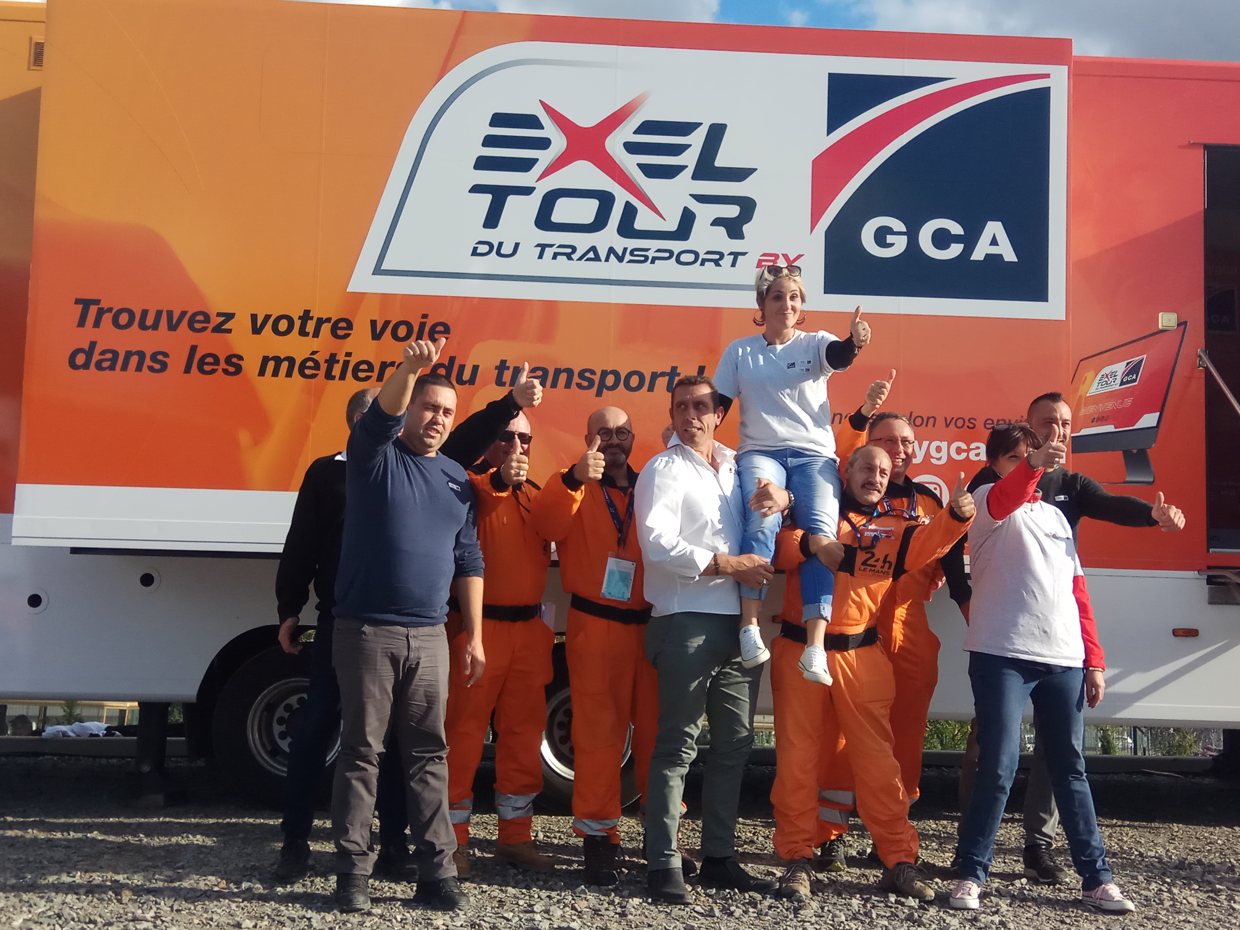 Lancement Exel Tour by GCA